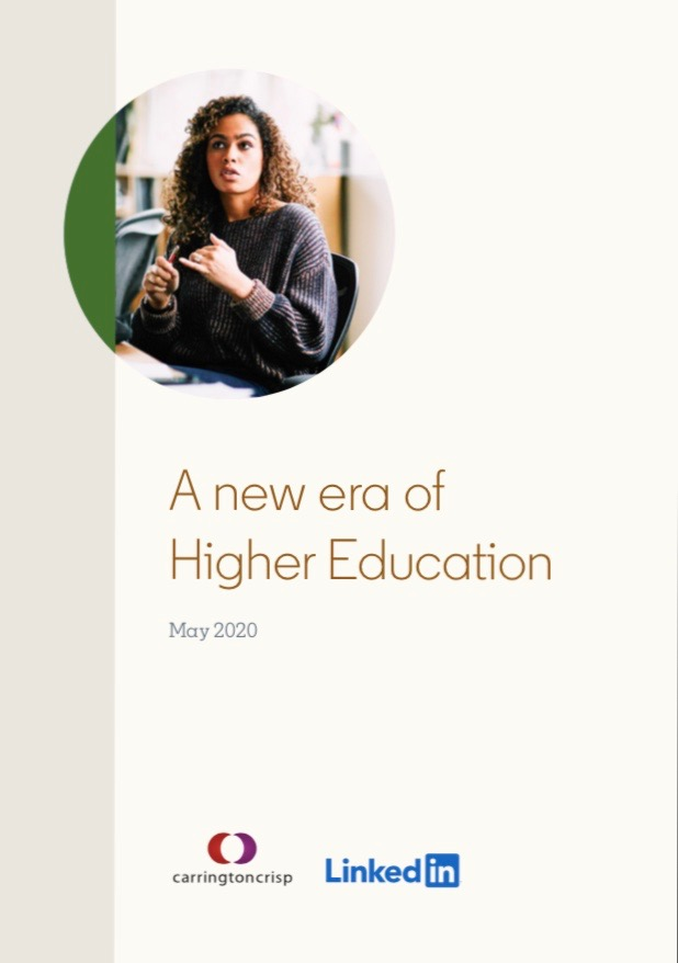 A New Era for Higher Education